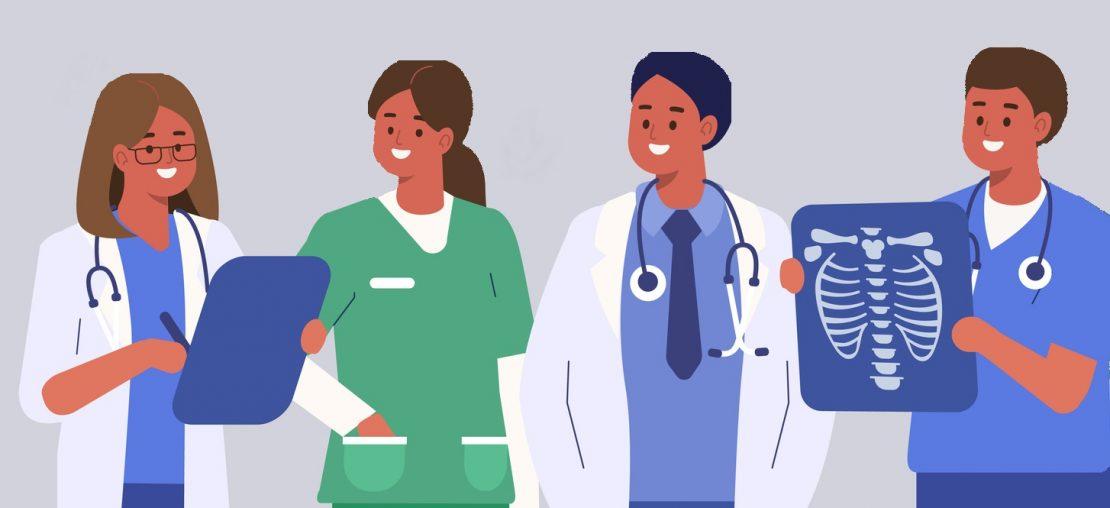 estudante área da saúde
