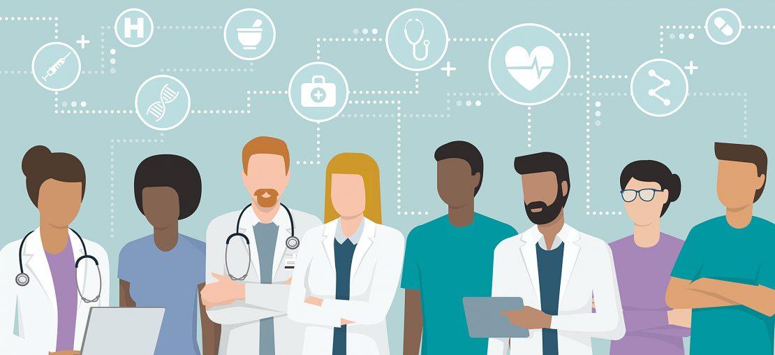 profissões na área da saúde
