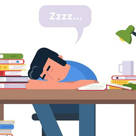 sono na hora de estudar